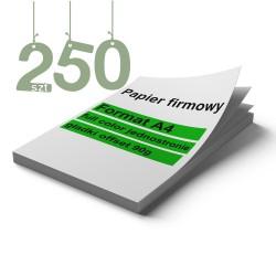 Papiery firmowe 250szt