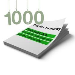 Papiery firmowe 1000szt