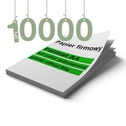 Papiery firmowe 10000szt