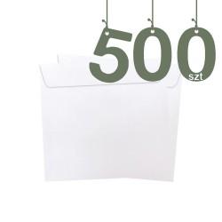 Koperty firmowe kwadratowe 500szt