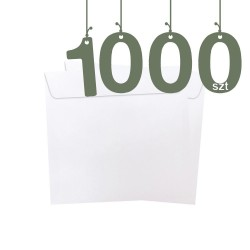 Koperty firmowe kwadratowe 1000szt