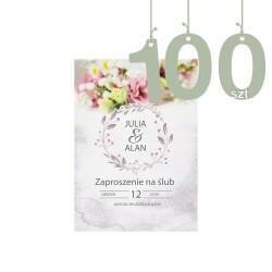 Zaproszenia 100szt