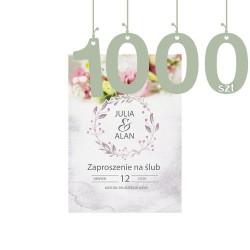 Zaproszenia 1000szt