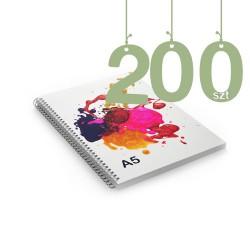 Notesy spiralowane A5 200szt