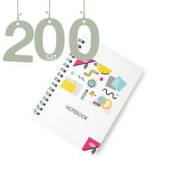 Notesy spiralowane A4 200szt