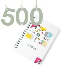 Notesy spiralowane A4 500szt