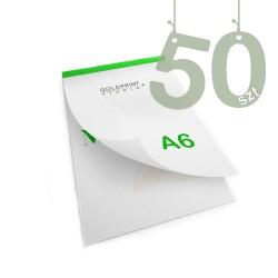 Notesy klejone A6 50szt