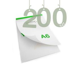 Notesy klejone A6 200szt