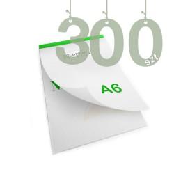 Notesy klejone A6 300szt