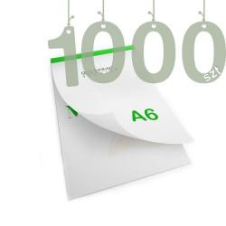Notesy klejone A6 1000szt