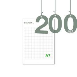 Notesy klejone A7 200szt
