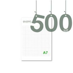 Notesy klejone A7 500szt