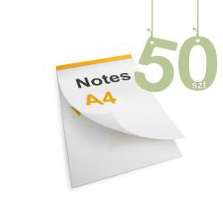 Notesy klejone A4 50szt