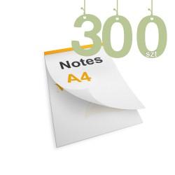 Notesy klejone A4 300szt