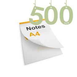 Notesy klejone A4 500szt