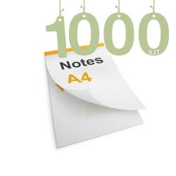 Notesy klejone A4 1000szt