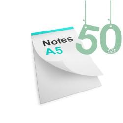 Notesy klejone A5 50szt