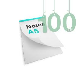 Notesy klejone A5 100szt