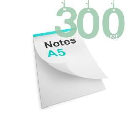Notesy klejone A5 300szt