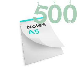 Notesy klejone A5 500szt