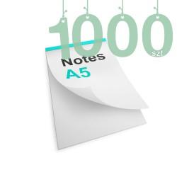 Notesy klejone A5 1000szt