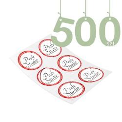 Naklejki cięte 500szt