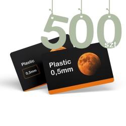 Karty pocztowe PCV 500szt