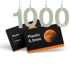 Karty pocztowe PCV 1000szt