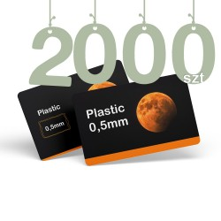 Karty pocztowe PCV 2000szt