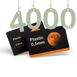 Karty pocztowe PCV 4000szt