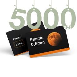 Karty pocztowe PCV 5000szt