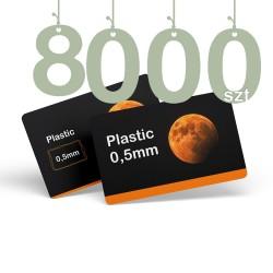 Karty pocztowe PCV 8000szt