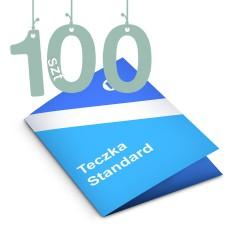 Teczki A4 Standard 1-bigowa 100szt