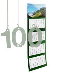 Kalendarze czterodzielne 100szt