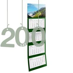 Kalendarze czterodzielne 200szt