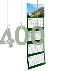 Kalendarze czterodzielne 400szt