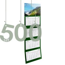 Kalendarze czterodzielne 500szt
