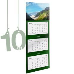 Kalendarze trójdzielne typ Standard 10szt