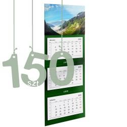 Kalendarze trójdzielne typ Standard 150szt