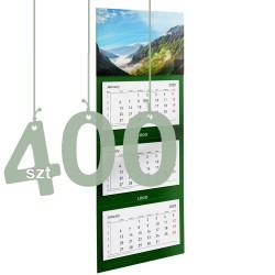 Kalendarze trójdzielne typ Standard 400szt