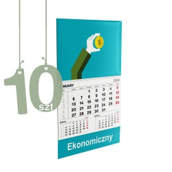 Kalendarze Jednodzielne Ekonomiczne 10szt