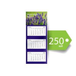 Kalendarze Trójdzielne Mini Ekonomiczne 250szt