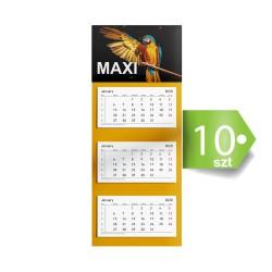 Kalendarze trójdzielne MAXI 10szt