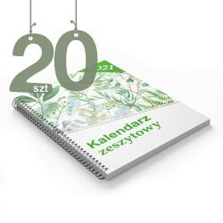 Kalendarze zeszytowe 20szt
