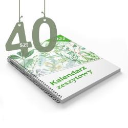Kalendarze zeszytowe 40szt
