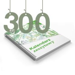 Kalendarze zeszytowe 300szt
