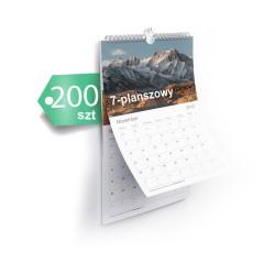 Kalendarze 7-planszowe 200szt