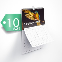 Kalendarze 13-planszowe 10szt