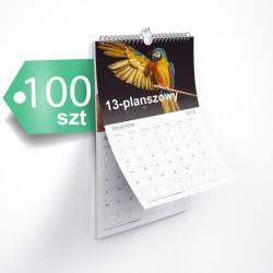 Kalendarze 13-planszowe 100szt