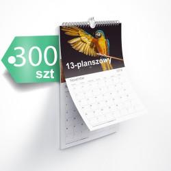 Kalendarze 13-planszowe 300szt